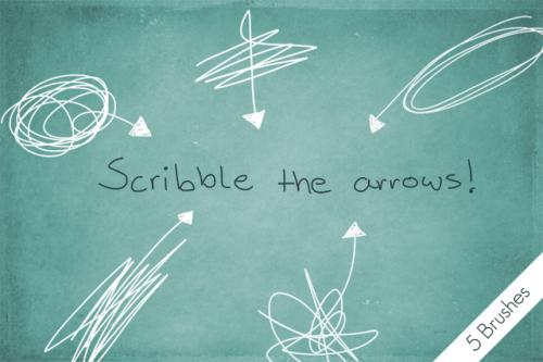 scribble_the_arrows__by_byjanam-d58jxwd-500x333