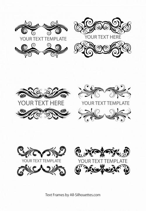 text-frames