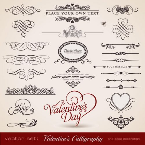 valentines-calligraphy-and-page-decoration-border-500x500