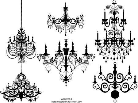 vector-chandelier-2677