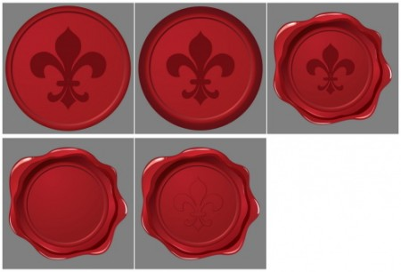 vector-fleur-de-lys-wax-seal-cs-by-dragonart-450x306