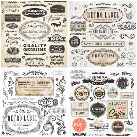 vector-retro-decorative-design-elements-450x450