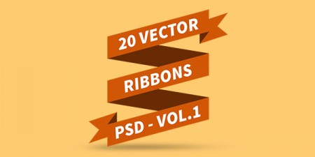 vector-ribbons-psd