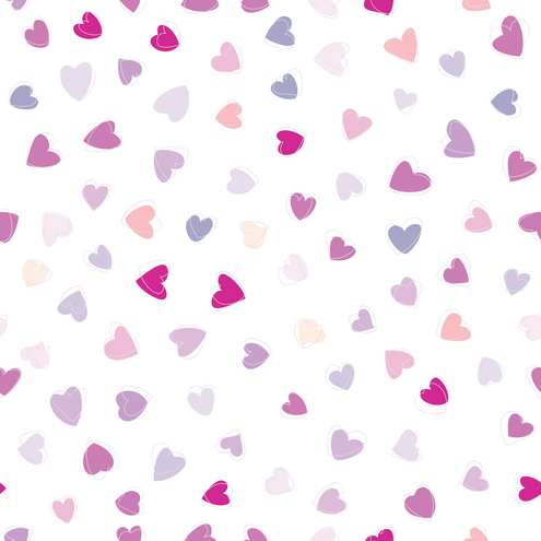 wallpaper rain blue hearts - photo #31