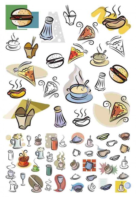vector_hand_painted_food_amp_beverage_set-450x653