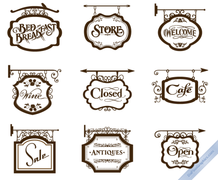 vintage-store-signs