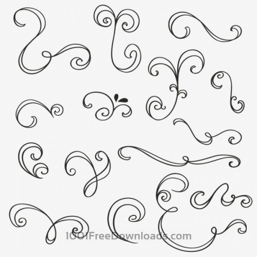 vintage-vector-set-of-handdrawn-decorations-3-500x500