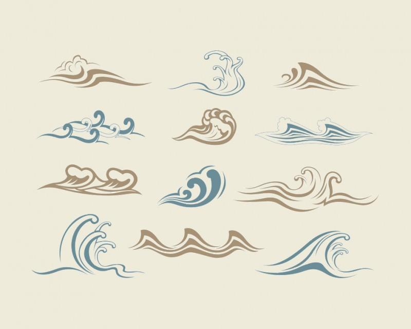 使って見たい!36種類の波の ...