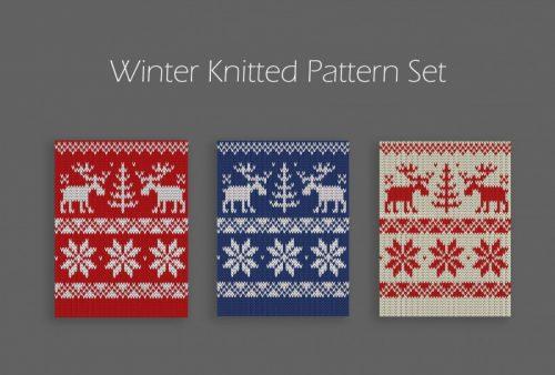 winter-knitted-pattern-set-01-500x338